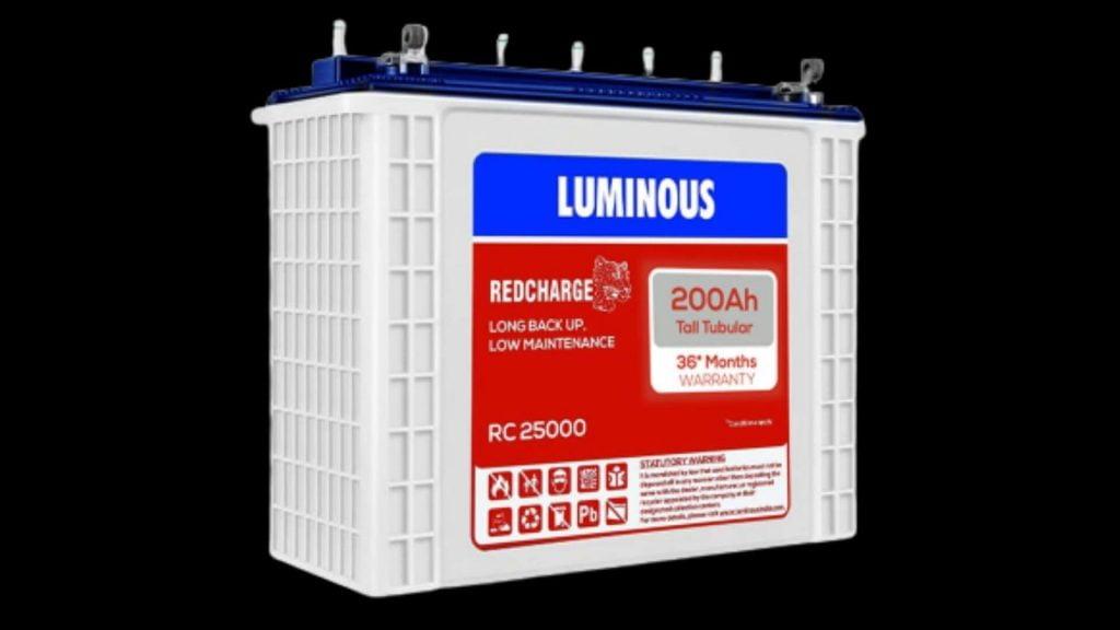 LUMINOUS RC 18000 150 AH TALL TUBULAR BATTERY REVIEW