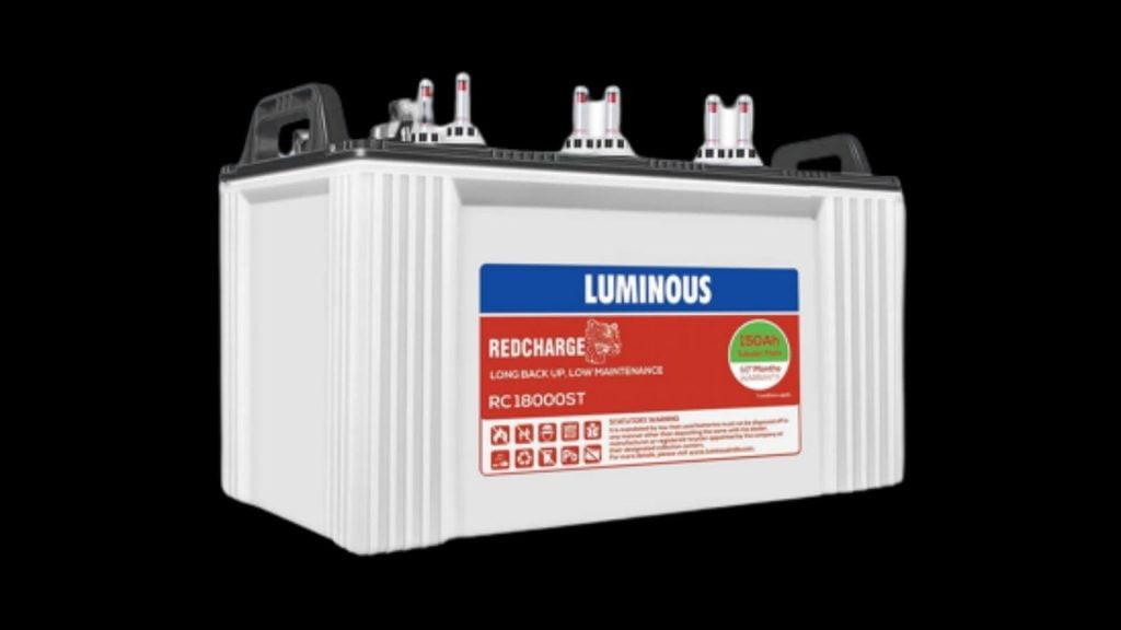 LUMINOUS RC 18000ST 150 AH TALL TUBULAR BATTERY REVIEW